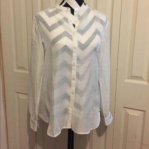 Ann Taylor Loft Button Down Shirt
